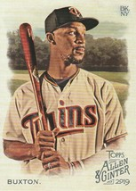 2019 Topps Allen and Ginter #263 Byron Buxton  - $0.50