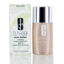 Clinique Even Better Makeup Shades 20-74 with Spf 15 1.0 Oz - $30.99+