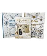 HARRY POTTER Coloring Books & Gadget Decals Stickers Removable Reusable ... - $29.95