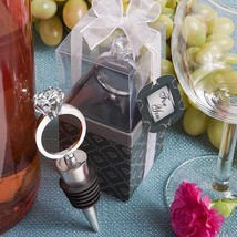 Diamond Ring Wine Bottle Stoppers  - $6.99