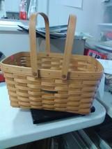 Longaberger Market Basket Swing Handles - 2003 - Signed by Tammie - $27.55