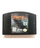 ☆ Turok 2 Seeds of Evil (Nintendo 64 1998) RARE AUTHENTIC N64 Black Game... - $9.89