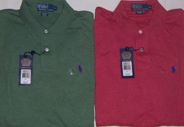 "New Mens Polo Ralph Lauren ""The Interlock Shirt"" Short Sleeve Polo Size ... - $37.50"