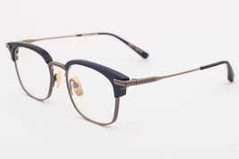 DITA NOMAD Navy Gold Eyeglasses DRX-2080-D 51mm 2080 D - $342.02
