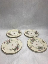 Vintage Theodore Haviland Apple Blossom China 4 Pcs Bread Plate 6.5 Inch - $25.73
