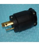 NEW Qualtek  Q-810 Locking Plug 15A 125VAC WIRING DEV 2-Pole 3-Wire NEMA... - $9.81