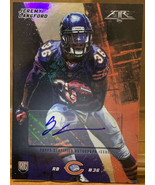 JEREMY LANGFORD 2015 TOPPS FIRE CHICAGO BEARS ROOKIE AUTO RC #D /500 FOO... - $9.41