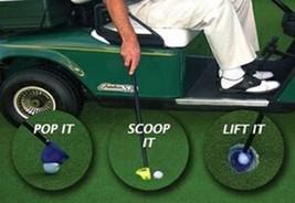 Scramble Caddy: Tournament Golf ball Retriever & Water Scoop - $27.95