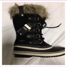 Sorel Joan women's Smooth suede cozy sherpa cuff  Boots - $95.60