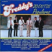 Los Freddy's 20 Exitos Populares CD - $4.95