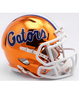 Florida Gators Helmet Riddell Replica Mini Speed Style Chrome Alternate*... - $29.99