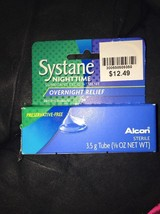 Systane Nighttime Lubricant Eye Ointment 3.50 g New/Sealed - $12.60