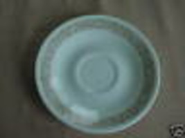 4 CORELLE WOODLAND BROWN SAUCER 6.25 INCH FREE USA SHIPPING - $16.82