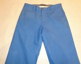 Dockers Size 34W 34L 24/7 KHAKI CLASSIC FIT Blue New Mens Flat Front Pants - $59.40