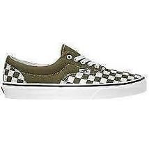 Mens Vans Era Checkerboard Beech True White VN0A4BV4VXI - $44.99