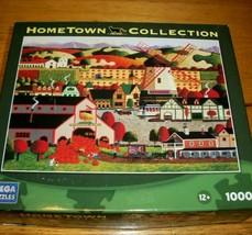 Jigsaw Puzzle 1000 Pieces Solvang CA Windmill Pumpkin Farm Heronim Art C... - $12.86