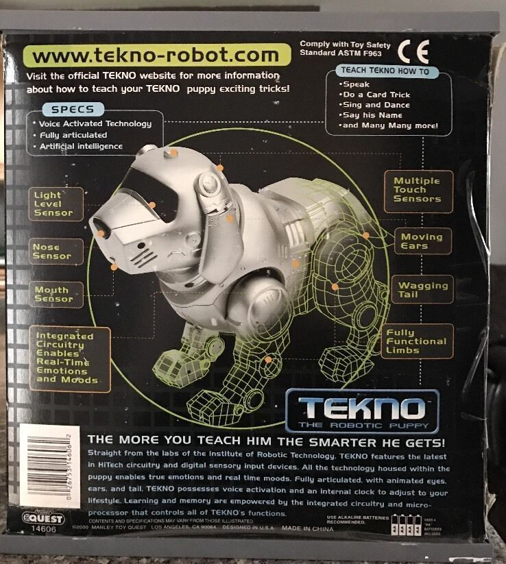 (2000) Tekno The Robotic Puppy - Special Dalmatian Edition    FREE SHIPPING!