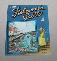 Fishermens Grotto San Francisco Recipe Book Booklet Wharf Seafood - $7.87