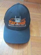 Fleet Management Road Service Trucker Hat Cap Flex Fit L/XL YUPOONG - $37.61