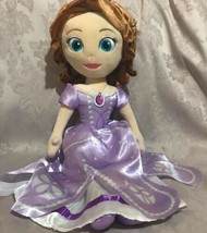 "Disney Princess Sofia The First Plush Doll 23"" JAY FRANCO & SONS - $41.16"