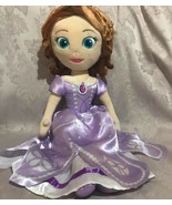 "Disney Princess Sofia The First Plush Doll 23"" JAY FRANCO & SONS - $41.16"