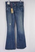 People liberation Dark Wash Gloria Flare Star Pocket Distressed  Sz 24 NWT - $37.99