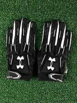 Team Issued Baltimore Ravens Under Armour NFL Fierce 2xl Football Gloves - $17.99