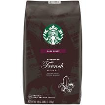 Starbucks Dark French Roast Ground Coffee(40 Oz.) Free Shipping Brand New - $23.75