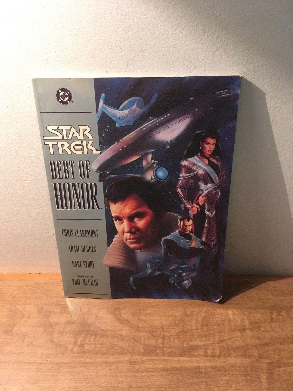 Star Trek: Debt of Honor Paperback Comic Book (1992, PB)