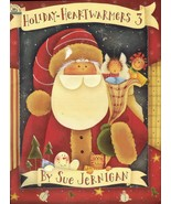Tole Decorative Painting Holiday Heartwarmers 3 Sue Jernigan Christmas Book - $13.99
