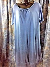 Joie Womens Short Sleeve Size Large Blue Hombre Dress Sundress Cover Up - $23.38
