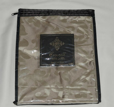Croscill  White Label  Majestic * STANDARD PILLOW SHAM * Taupe, NEW! - $13.98