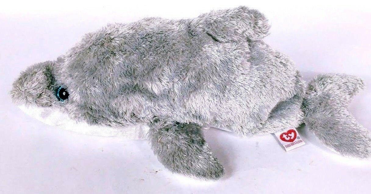 "Ty Beanie Buddies Skimmer Dolphin Plush Stuffed Animal 15"" image 2"