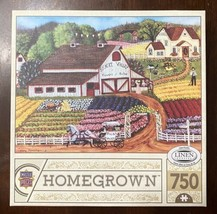 Master Pieces 750 Piece Jigsaw Puzzle - Homegrown - Fresh Flowers -Excel... - $10.05
