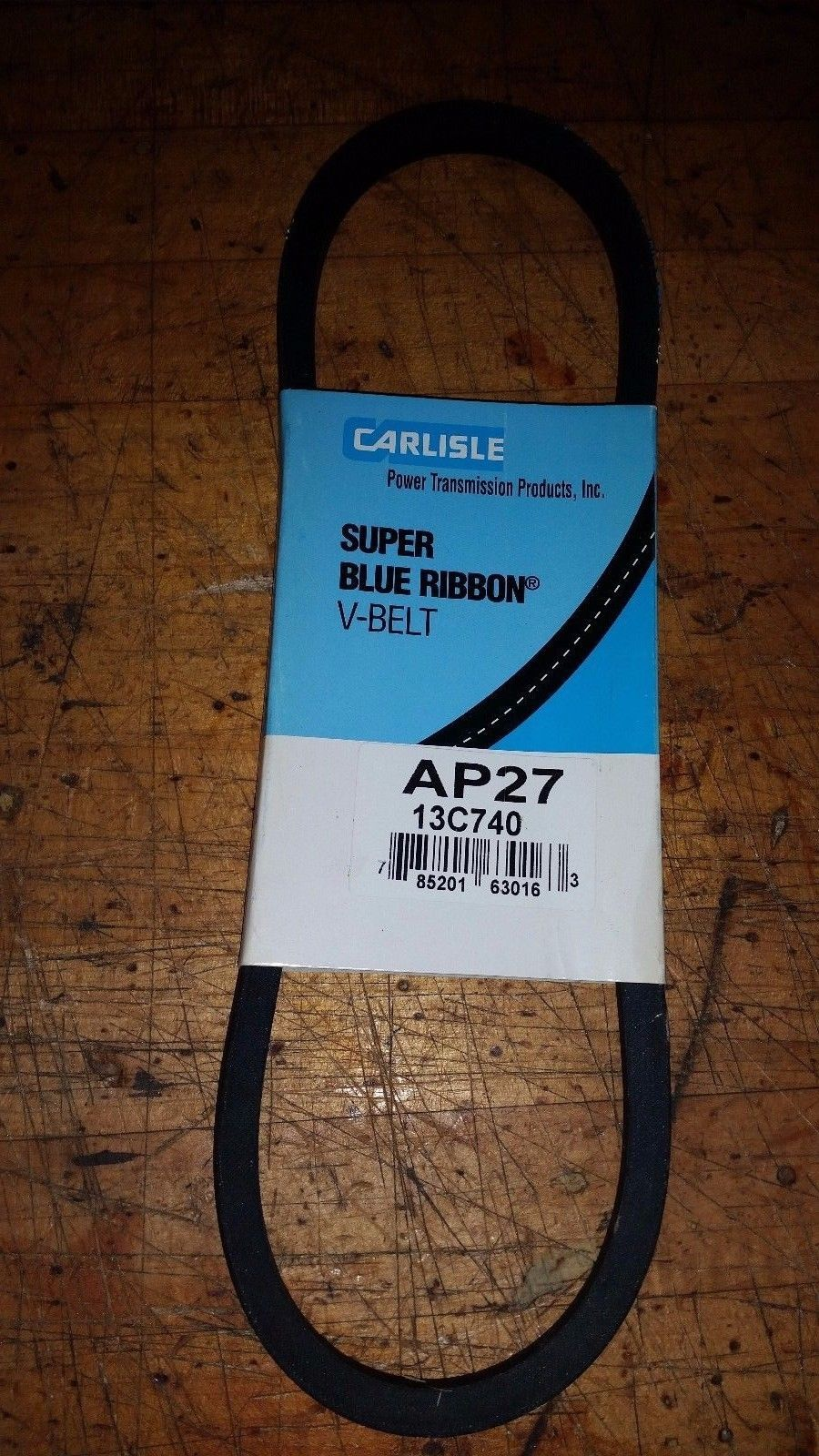 V-BELT VEE BELT AP27 13C740 CARLISLE SUPER BLUE RIBBON