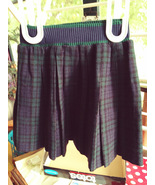 Plaid Pleated Skirts Child size 6X Sears Honeysuckle and 3T Sacony brand - $10.00+