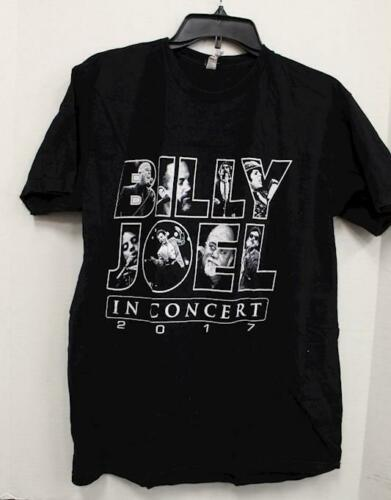 Billy Joel Men's Shirt Stadium Tour 2017 Concert Shirt Black Size L