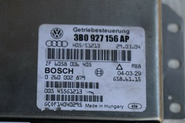 VW PASSAT 2.0 tdi Diesel Transmission Module Computer TCM TCU 3B0927156AP image 2