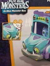 Netflix Playschool Super Monsters GrrBus Monster Bus Toy Lights Sounds & Music  image 12