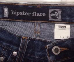 Levis SilverTab 26x30 sz 5 Hipster Flare Blue Jeans Jr Junior M Silver Tab Teen - $22.43