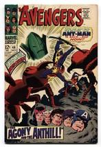 Avengers #46 Ant-Man returns high grade copy vf+1967 marvel - $94.58