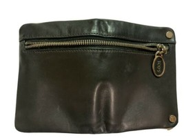 Tod's Black Leather Wallet Preowned - $68.31