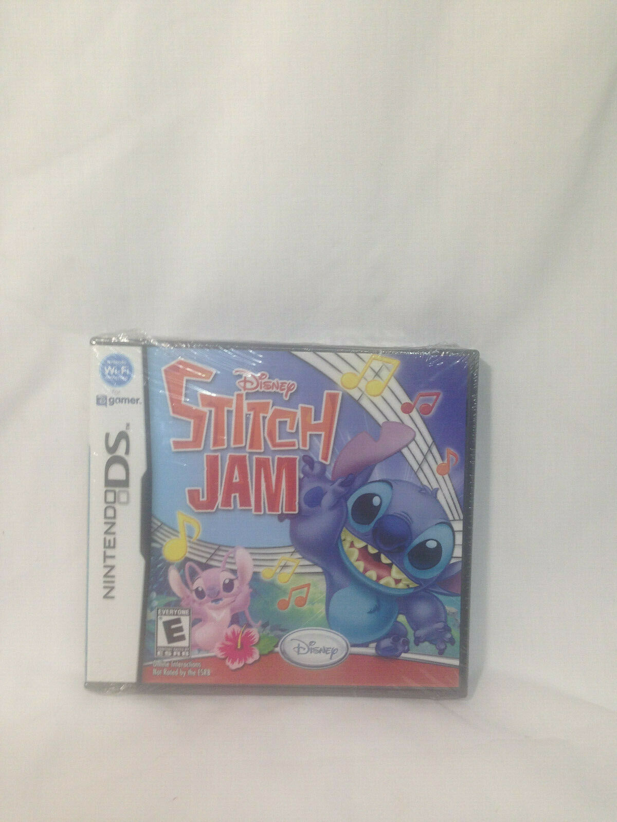 Disney Stitch Jam NDS New Nintendo DS Brand New Factory Sealed
