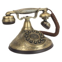 Retro Vintage Telephone Corded Rotary Phone Antique Headset Office Desk ... - $163.99