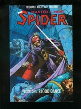 THE SPIDER BOOK ONE: BLOOD DANCE-1991 PULP HERO COMIC VF/NM - $14.90