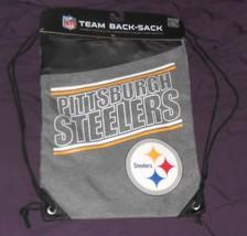 NWT pittsburgh steelers cinch sack - backpack - $19.99