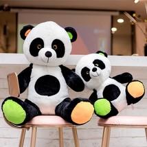 40/60cm Kawaii Baby Big Giant Panda Plush Stuffed Animal Doll Fat Panda ... - ₹2,121.46 INR