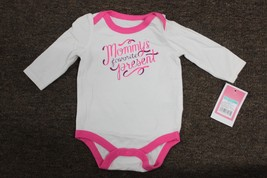 MOMMY'S FAVORITE PRESENT Bodysuit Baby's First Christmas Circo Pink Girl... - $9.95