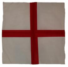 "Wholesale Lot 6 22""x22"" St. Georges Cross Enland English Red Cross Bandana - $14.88"