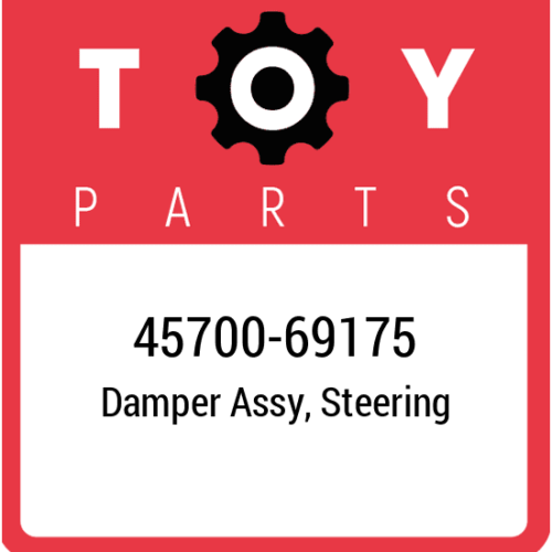 45700-69175 Toyota Damper Assy Steering, New Genuine OEM Part